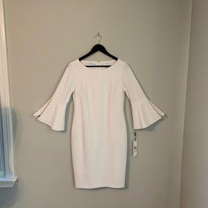 NWT Calvin Klein Bell Sleeve Pencil Dress